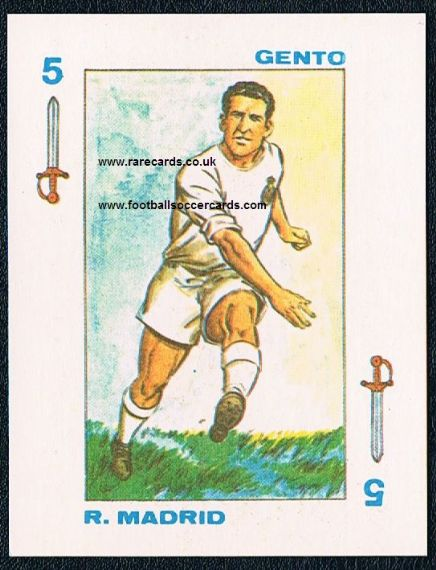 1971 Gigarpe Gento Real madrid